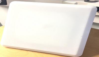 Compact RFID 10 inch pannel antenna for inventory tracking